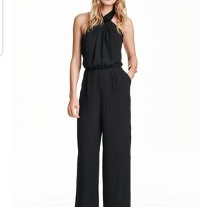H&M Black jumpsuit.